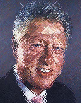 Chuck Close, 2006. Image courtesy of www.artobserved.com