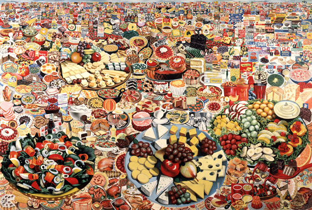 "Erro ""Foodscape"" 1964. image courtesy of www.e-flux.com"