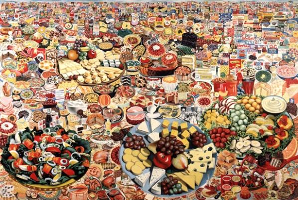 """Erro """"Foodscape"""" 1964. image courtesy of www.e-flux.com"""