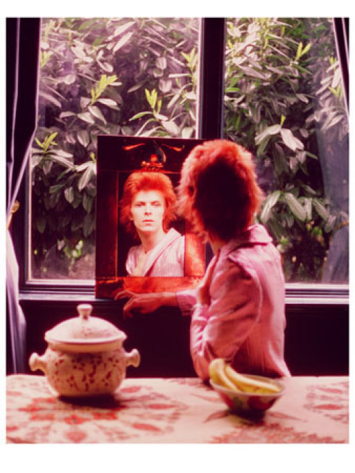 Mick Rock, 1972. Image courtesy of www.artspace.com