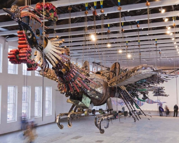 Xu Bing, Phoenix Project (2008-2012). image courtesy of www.nothingmajor.com
