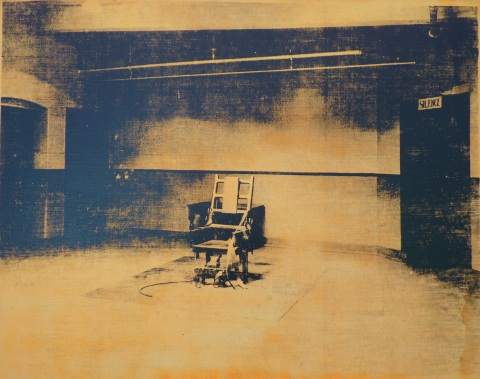 "Andy Warhol, ""Electric Chair"", 1971."