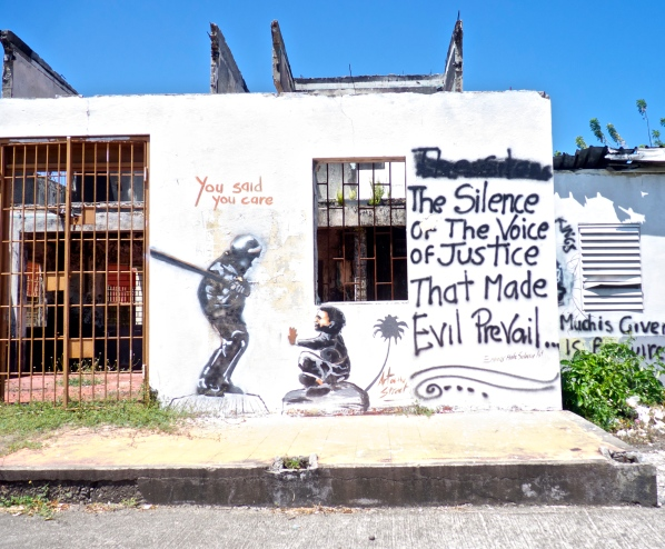 Jamaican graffiti