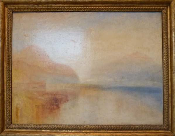 Joseph Mallord William Turner, 1775-1851. Inverary Pier, Loch Fyne: Morning. ca.1845