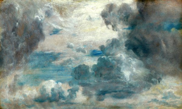 John Constable, Cloud Study, ca. 1822. image courtesy of www.collections.frick.org