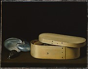 Sebastien Stoskopff, Still Life with a Nautilus, Panther Shell, and Chip-Wood Box, c.1630. image courtesy of www.metmuseum.org