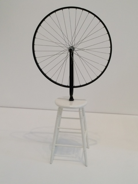 Marcel Duchamp, Bicycle Wheel. 1951