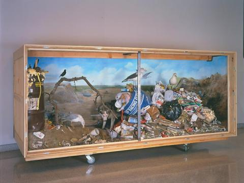 Mark Dion, Landfill 1999-2000. Mixed Media. Image courtesy of Tanya Bonakdar Gallery.