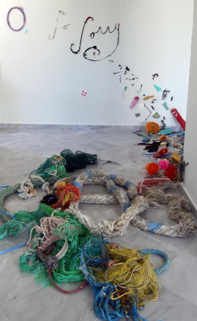 Pam Longobardi. Installation View.